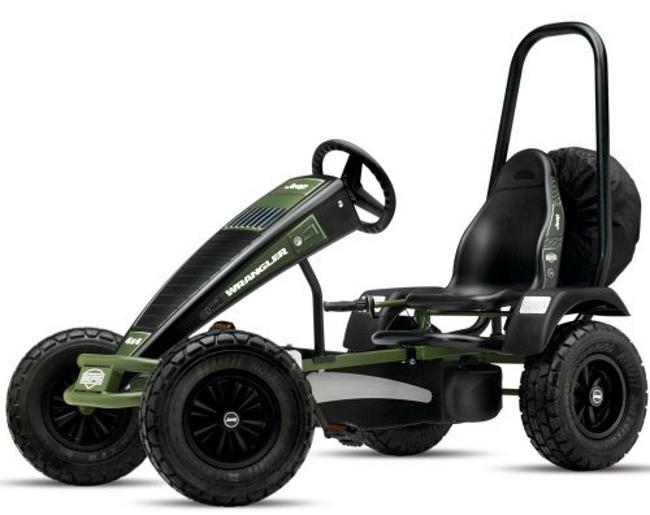 Compare The Berg Jeep Wrangler BF3 Pedal Go Kart Review
