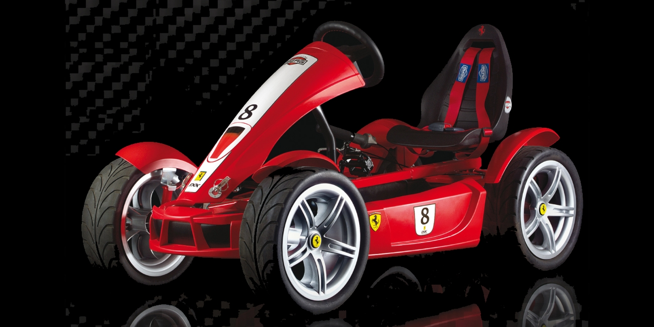 The Ferrari FXX Go Kart For Big Kids And Other Berg Pedal Go Karts June 25  2018