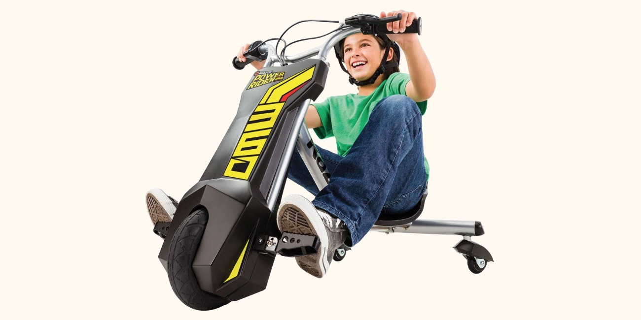 Is the power rider 360 electric trike the coolest kids for Motorized cars for older kids