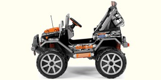 The Peg Perego Gaucho Rocking Ride-On Will Be The Kids Outdoor Adventure Vehicle