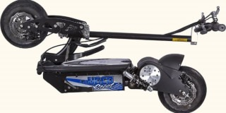 Uberscoot 1000w 36v Electric Scooter Review Available In Different Colors Including Green