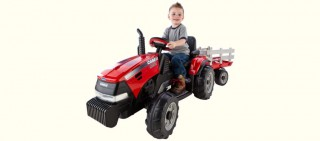 Is Peg Perego's Case IH Magnum Kids Electric Tractor Good Off-Road?