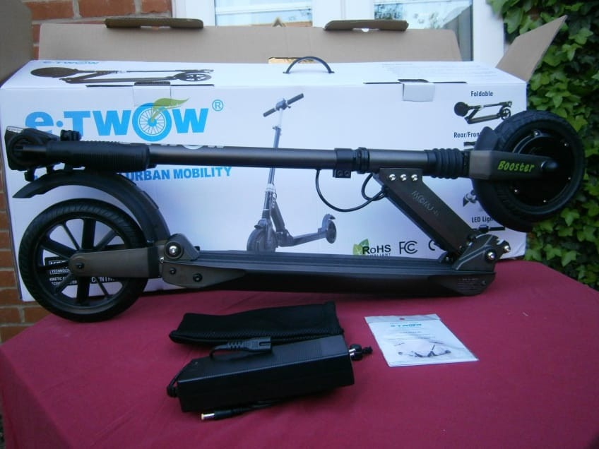 What's In The Box Of The E-Twow Electric Scooter?