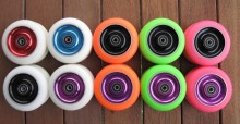 Metal Core Kick Scooter Replacement Wheels