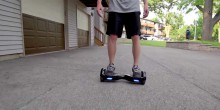 Tutorial guide on how to ride a self balancing scooter segway hoverboard