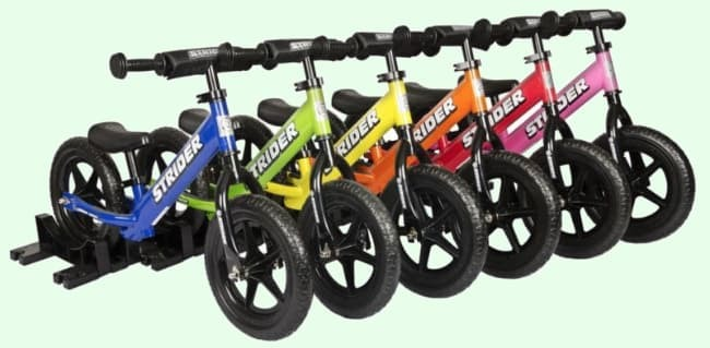 Balance Bike Reviews Strider Make Many Colors For Toddlers