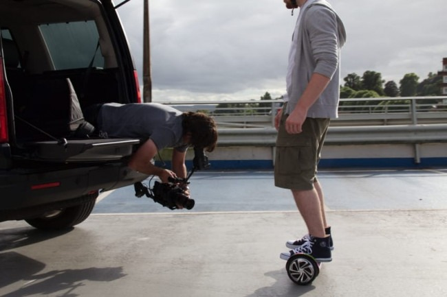 The Hover-X Hoverboard Featured in A Video Shoot But How Does It Work?