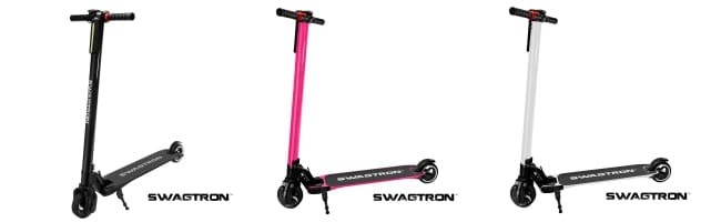 Swagtron Swagger Electric Scooter Uses A Li-Ion Battery