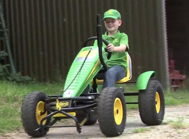 John Deere Pedal Tractor Go Kart Large Size Berg Review
