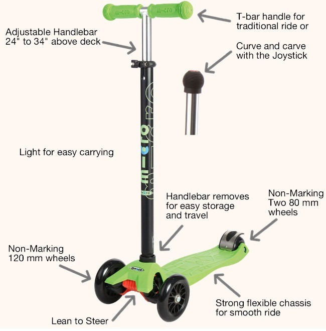 Maxi Micro Scooter Specifications