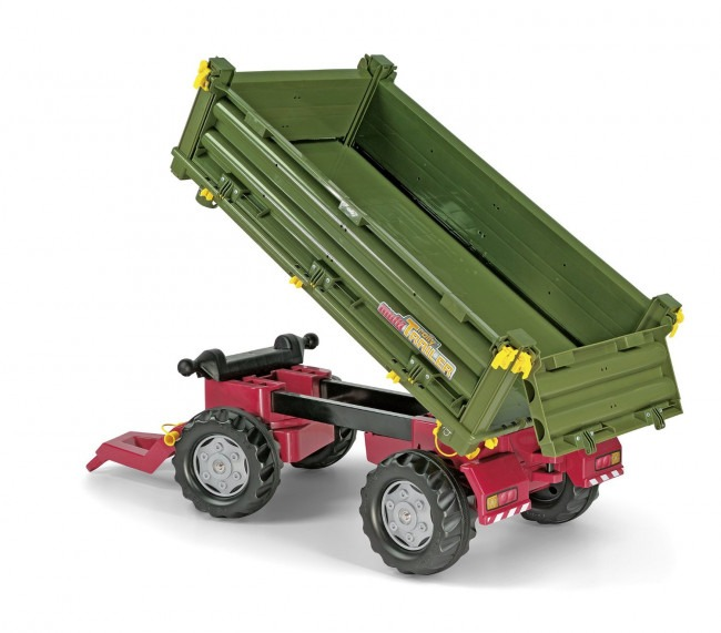Clearance For Black Friday Rolly Toys Multi Double Axel Trailer