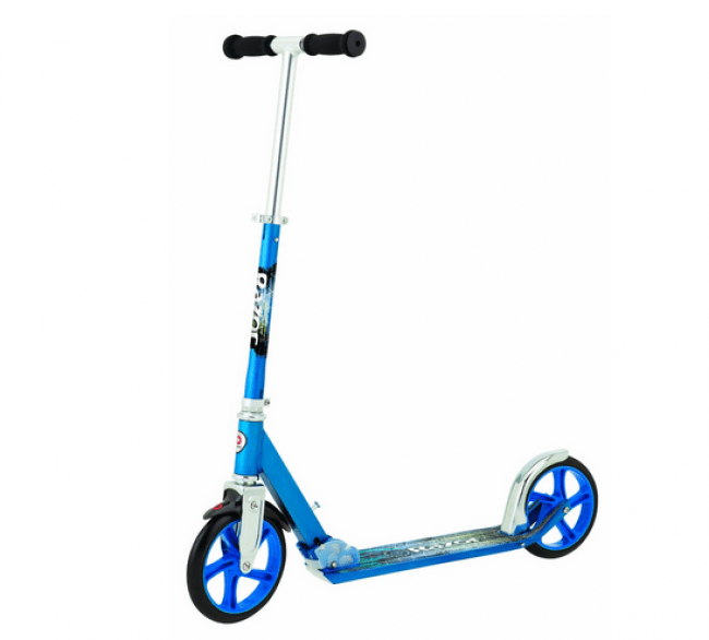 Razor A5 Lux blue Kick Scooter Review