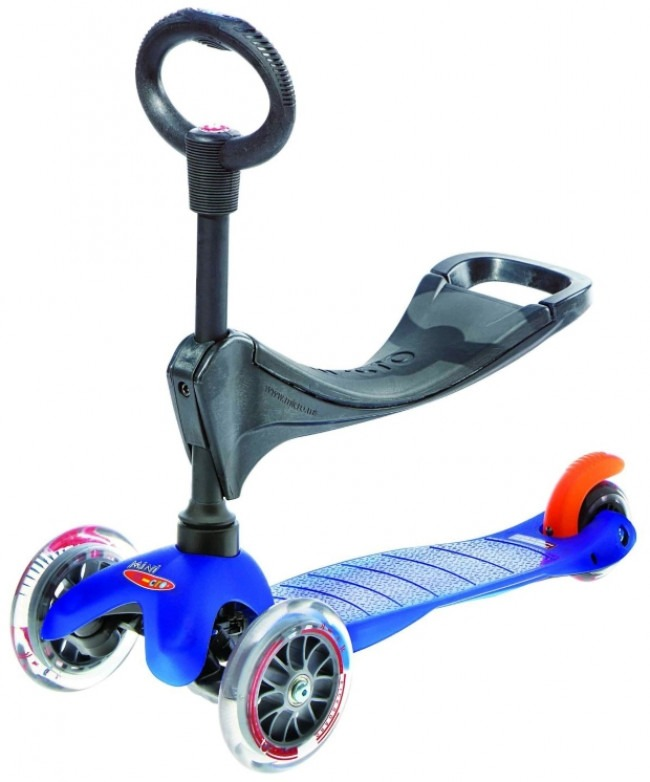 3 in 1 Kids Mini Micro Scooter With Seat and Handle Review