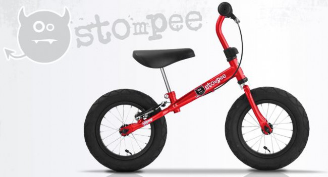 Stompee balance bike review red