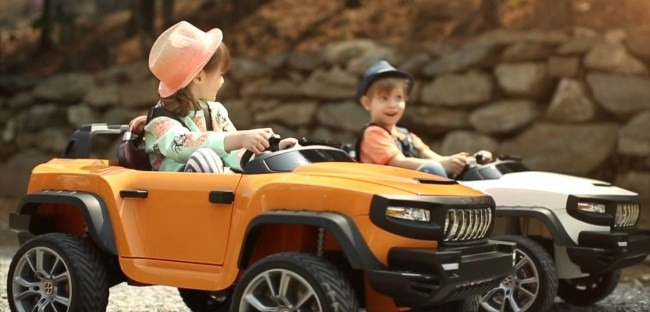 Kids Enjoying Driving The Henes Broom T870 In This Review