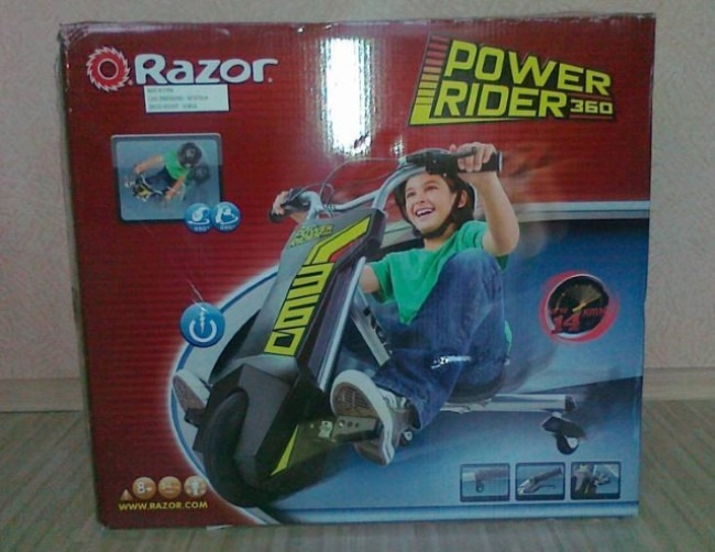 The Best Kids Electric Trike - Power Rider 360 Ride-on