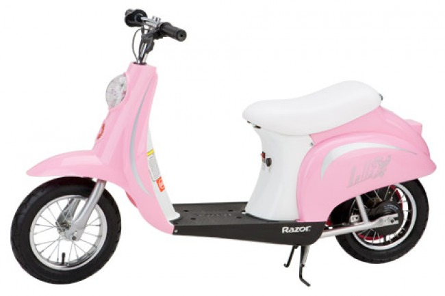 Best Kids Electric Ride-On Scooter Pink Razor Pocket Mod Review