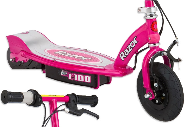 Razor E100 Best Electric Scooter Review For Kids In Pink