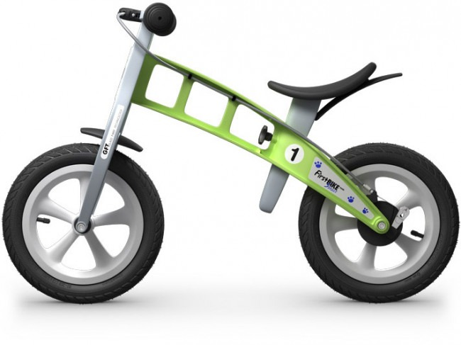 Green FirstBike Best Balance Bike For Toddlers