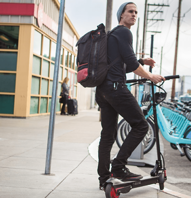 Get Around Town Easily With The EcoReco M5 Electric Scooter