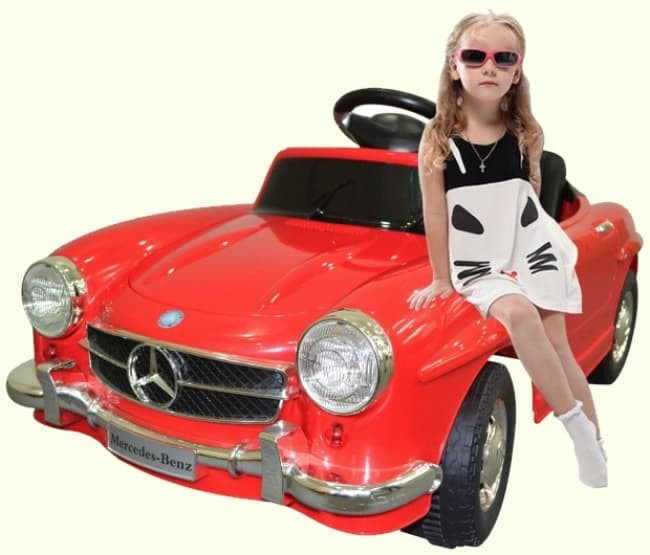 Child Vintage Mercedes Electric Car 300SL Red Review