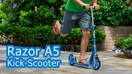 Best Kick Scooter Razor A5 Lux Review - Adult Scooter